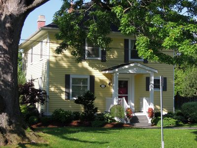 Photo for A 4 Bedroom Vacation Rental with Heated Pool in Old Town Niagara on the Lake.