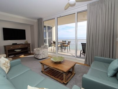 Photo for Indigo West 1104- Beach Front Unit with Luxurious Interior and Amenities!