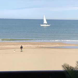 Photo for Exceptional sea view on Deauville beach