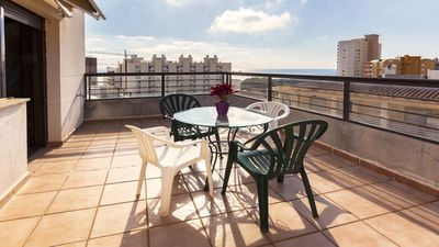 Photo for BELLADONA - Apartment in Calpe for 8 people 400 M away from the Arenal-Bol beach