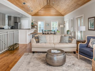 Photo for Near Rosemary & Alys – steps to beach, pool, 3 porches, Seacrest - *30A Bliss*