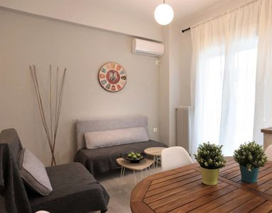 Photo for Pale Coloured Apt in Athens Historic Centre