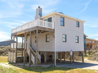 Photo for K1082 Turtle Time. Great Ocean View, S. Nags Head, Hot Tub, Linens Provided!