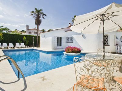 Photo for 5 bedroom Villa, sleeps 10 in Las Tres Cales with Pool, Air Con and WiFi