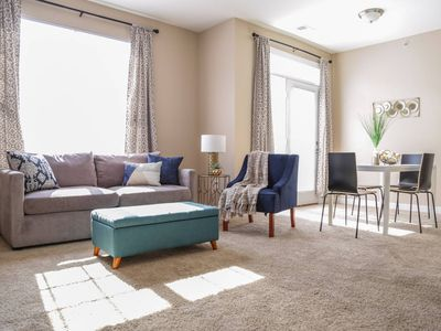 Photo for MODERN CHIC 2BR IN LUXURIOUS DOWNTOWN COMMUNITY
