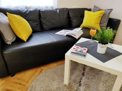 Photo for Comfortable apartment in the city center
