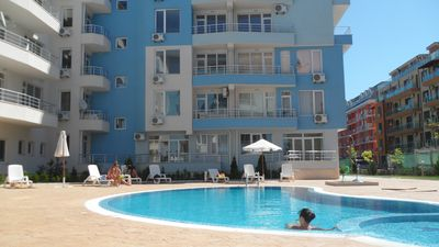 Photo for 1 bedroom apartment for sale in Bulgaria in Sunny Beach in a quiet location