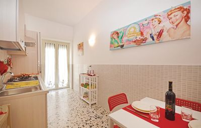 Photo for Apartment in Rome with Internet, Air conditioning, Terrace, Washing machine (330325)