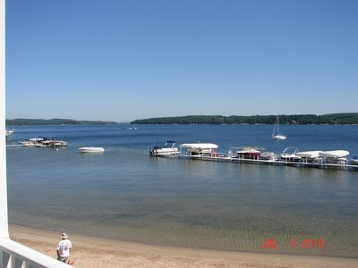 Photo for 3 Bedroom Lake Charlevoix Condo with Great View