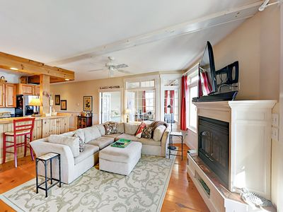 Photo for Year Round Luxury Waterfront Condo, Heart of Boothbay Harbor