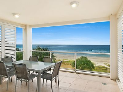 Photo for Solaya Unit 6 - Absolute beachfront apartment in Tugun, Gold Coast