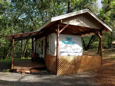Photo for ProwlerTravel Trailer on a Wooded 5 Acre Lot