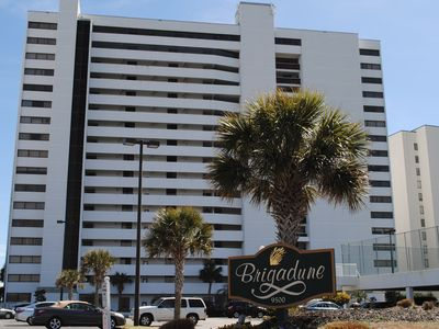 Photo for Glass enclosed balcony, OF unit Brigadune #6A Shore Dr Myrtle Beach SC
