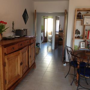 Photo for Large bright T2, 50 m2, Terrace, 10 minutes walk from the town center / beach