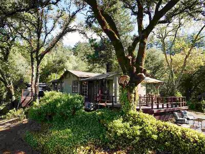 Charming 1950s cottage on 3+ acres just above the Dry Creek Valley