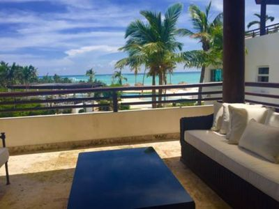 Photo for Cap Cana Stunning Ocean View 3 Bedroom Penthouse, Sleeps 8