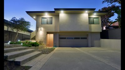 This amazing home sits right on the bay with incredible views of Morro Rock.