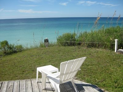 Back deck gulf view!