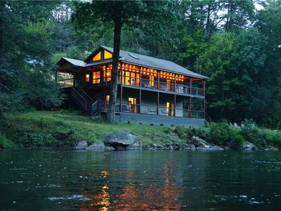 Photo for Aska Base Camp Cabin and the acclaimed Toccoa River will transport you to another place!