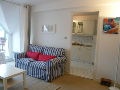 Photo for T2 at 20m from the beach, bright, quiet and comfortable + Garage + wifi / Label 3 *** keys