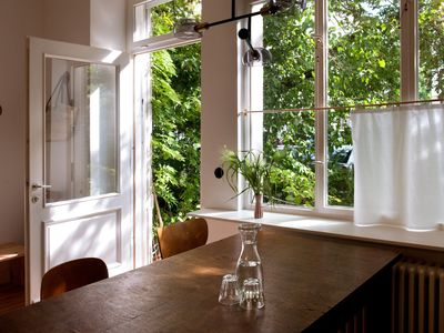 Photo for somewhere else - a modern, green, stylish & cozy city apartment