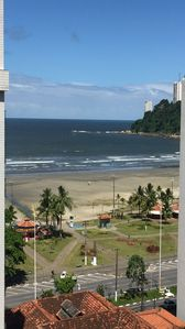Photo for Apartment in Itararé, São Vicente, 150 meters from the beach, high floor and quiet