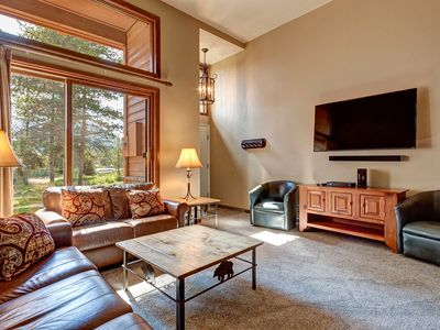 Photo for Quiet Breckenridge town-home, Hiking Access, Fantastic Amenities, Private garage