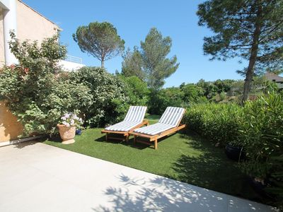 Photo for SAINT AYGULF. STANDING. PRIVATE PARKING. PISCINE.TENNIS. SEA 300 METERS