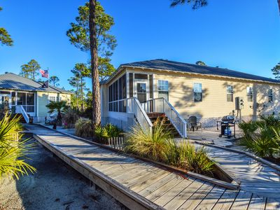 Photo for Great Unit Sleeping 8, Zero-Entry Pool, 1/2 Mile from the Beach!  Book Today!