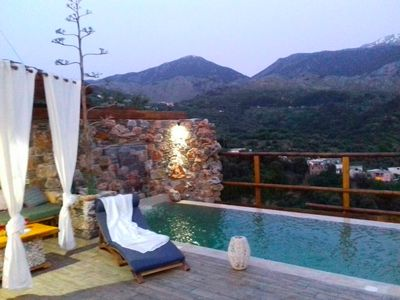 Photo for Villa Aeolus with private infinity pool and garden