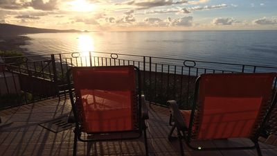 Photo for APARTMENT WITH VIEWS ON THE AEOLIAN ISLANDS