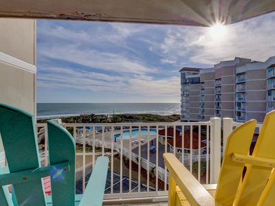 Photo for Newly Updated beautifully decorated oceanfront condo