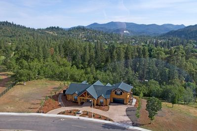 Aerial View of 110 Oak Ridge Drive