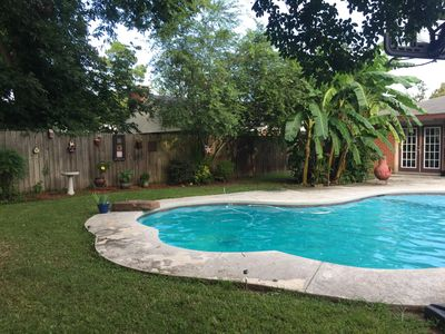 Photo for private oasis for family and pets
