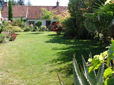 Photo for CHARMING COTTAGE IN THE HEART OF THE LOIRE CASTLES (and close to the ZOO BEAUVAL)