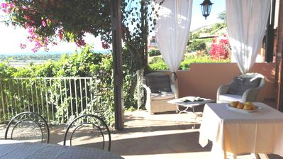 Photo for Panoramic cottage in Is Molas Resort Sardinia