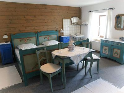 Photo for Double room with fl. Water - Sennerhof