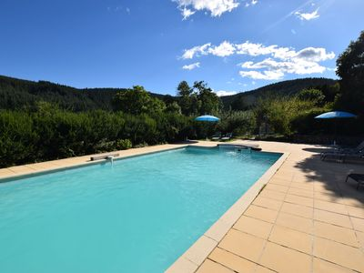 Photo for Former coach house in a castle with park garden, large swimming pool in Ardeche