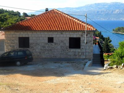 Photo for Apartment in Splitska (Brač), capacity 6+1