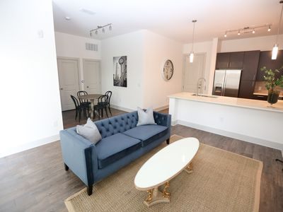 Photo for BUCKHEAD EAST PACES 1 BEDROOM LUXURY APARTMENT WITH POOL VIEW