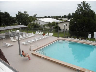 Relax by 1 of 2 heated pools