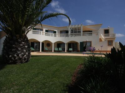 Photo for Gorgeous villa with private pool, garden and panoramic sea views. Villa103.com