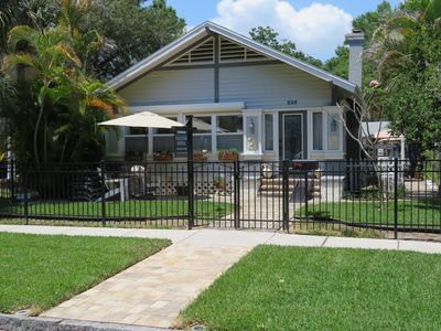 Photo for Historic Old Northeast/Downtown St. Petersburg Craftsman Bungalow!