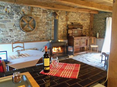 Photo for Beautifully Renovated 300 Year Old Farm Building.15 Minutes to Le Mont St Michel