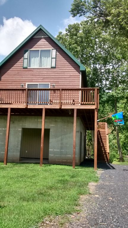 New cabin on the shenandoah river luray shenandoah valley for Shenandoah valley romantic cabins