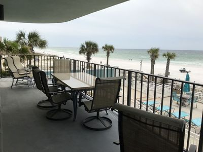 Photo for Luxury Resort Condo W/Breathtaking Views, Large Balcony, FREE BEACH SERVICE!