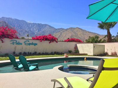 Photo for NEW! BEST VIEW! Pool/Spa REMODELED Privacy OPEN CONCEPT