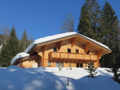 Photo for Grand Chalet Sunny, In Peace, Home Neat, Aux Diablerets in Switzerland