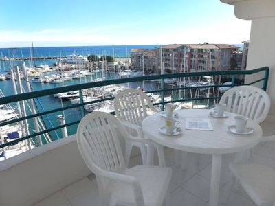 Photo for Apartment 486 m from the center of Fréjus with Lift, Internet, Washing machine, Pool (529403)
