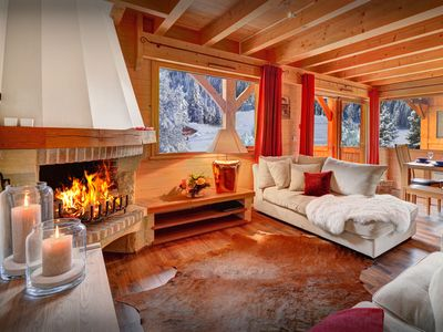 Photo for Ski into the village from this family-friendly 4 star chalet - OVO Network